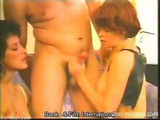 Classic zoophilia porn with two babes and snakes